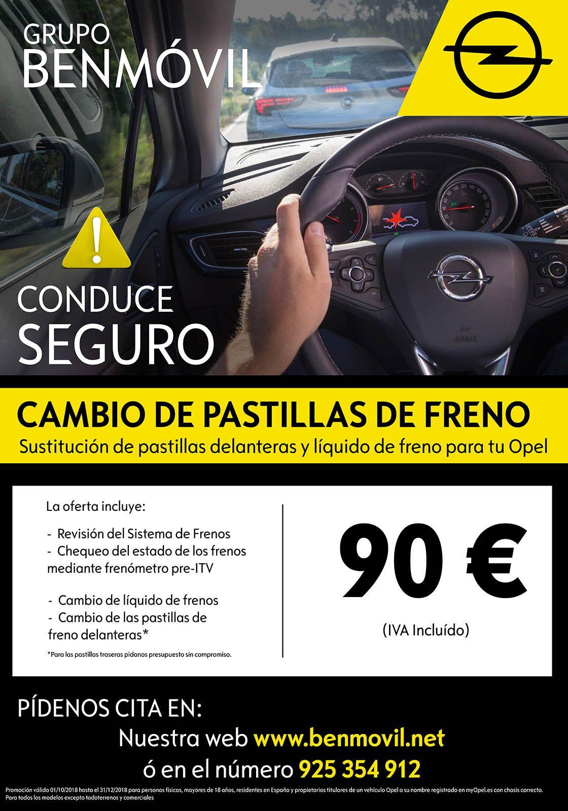 CONDUCE SEGURO, REVISA EL SISTEMA DE FRENADO