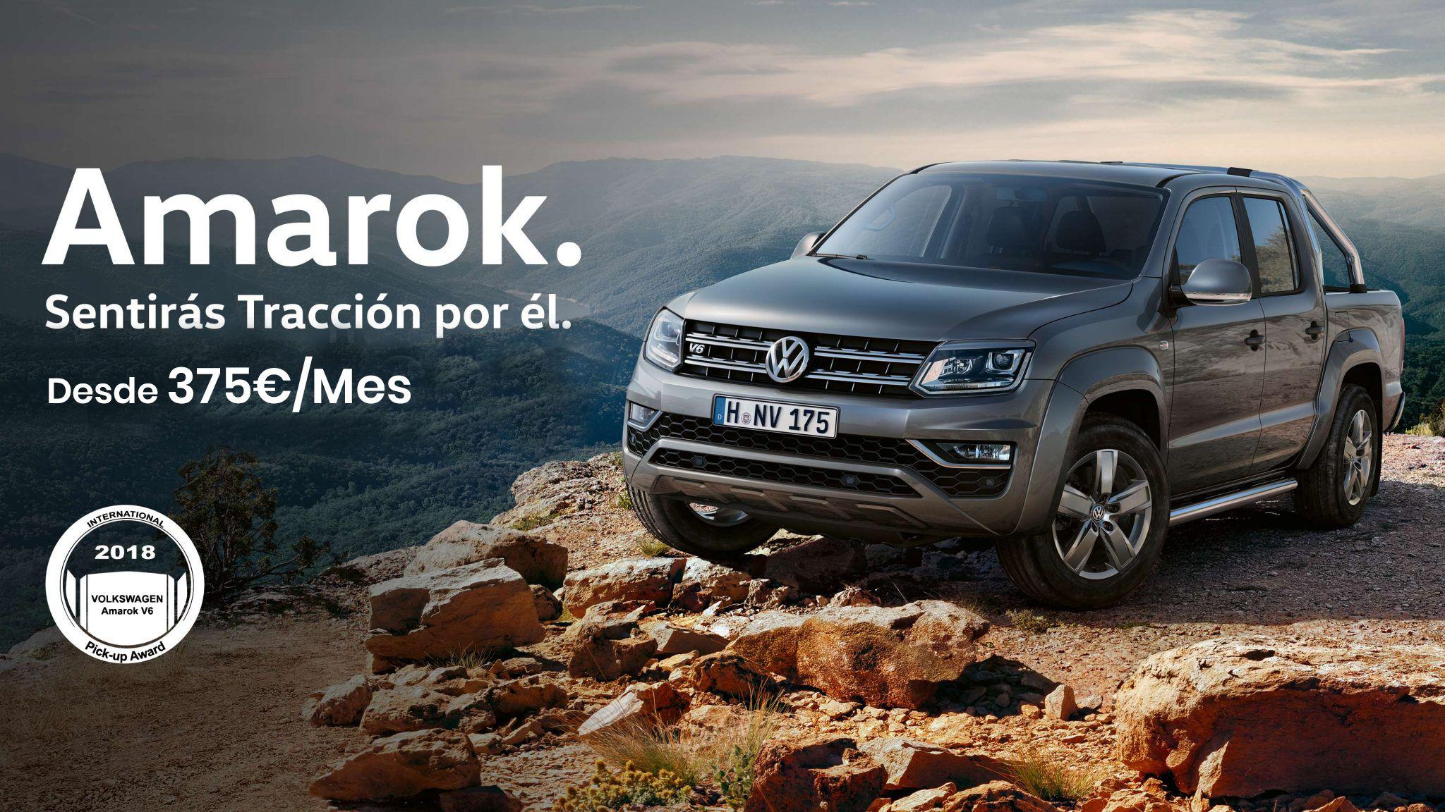 Amarok desde 375€ / Mes