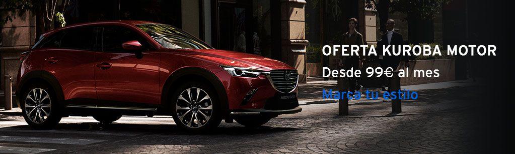 Nuevo Mazda CX-3 Marca tu estilo desde 99€ al mes