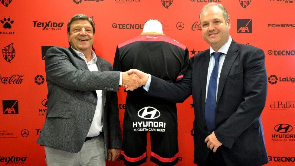 El CF Reus i Hyundai Augusta Car reforcen la seva unió