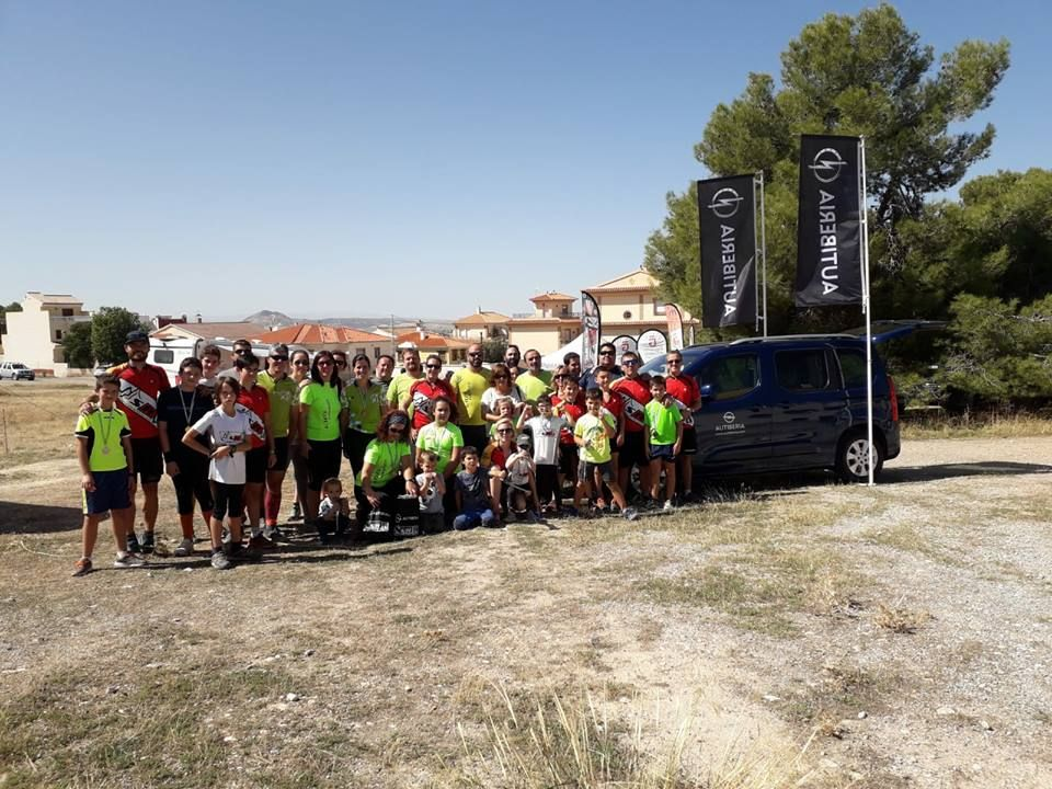 Opel Combo Life participa en la VI Prueba Provincial en La Zubia.