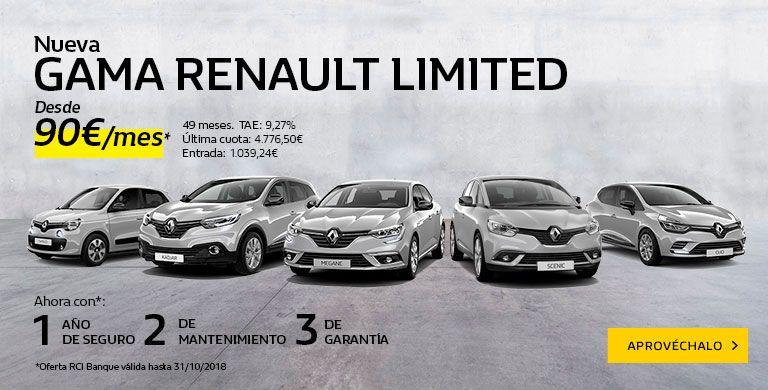Nueva Gama Renault LIMITED