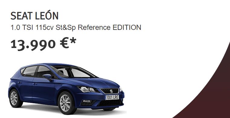 SEAT León por 13.990€