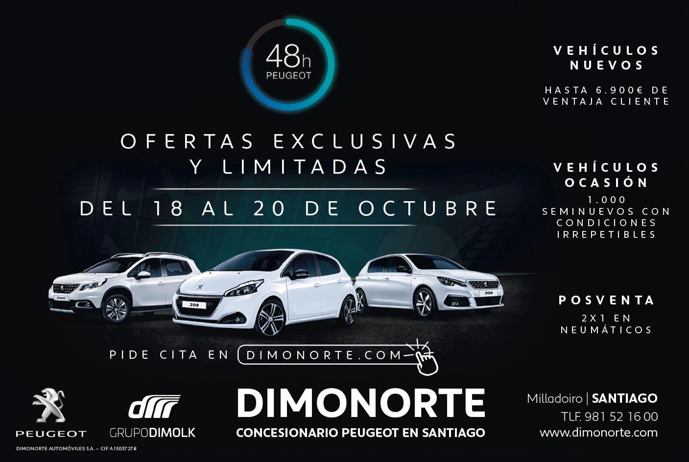 48 HORAS PEUGEOT DIMONORTE DEL 18 AL 20 DE OCTUBRE