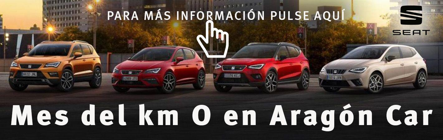 Mes del km O en SEAT Aragón Car
