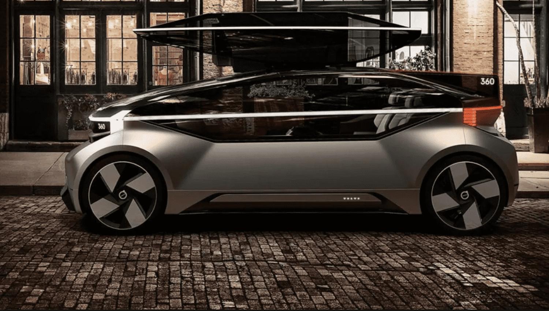 El nuevo concept autónomo 360c de Volvo Cars