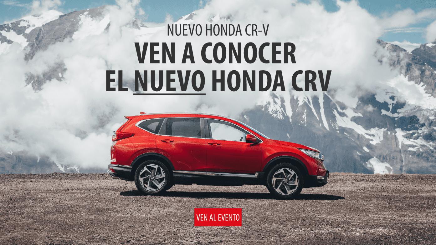 Ven a conocer el nuevo Honda CRV