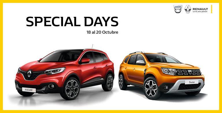 Special Days 18 al 20 de Octubre