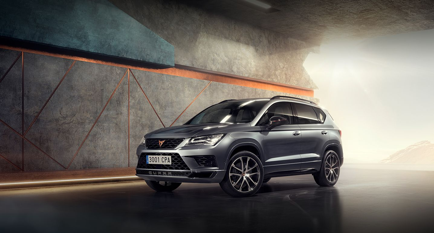 El CUPRA Ateca ya está disponible en Aragón Car.