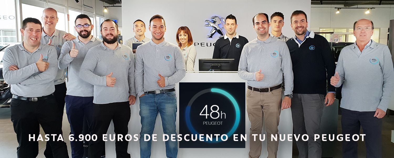 48 horas Peugeot Automóviles Torregrosa