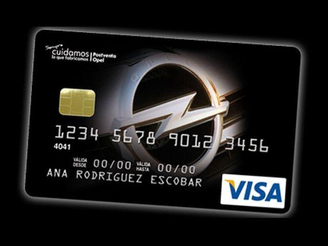 Con tu Visa Opel tienes todo nuestro Crédito.