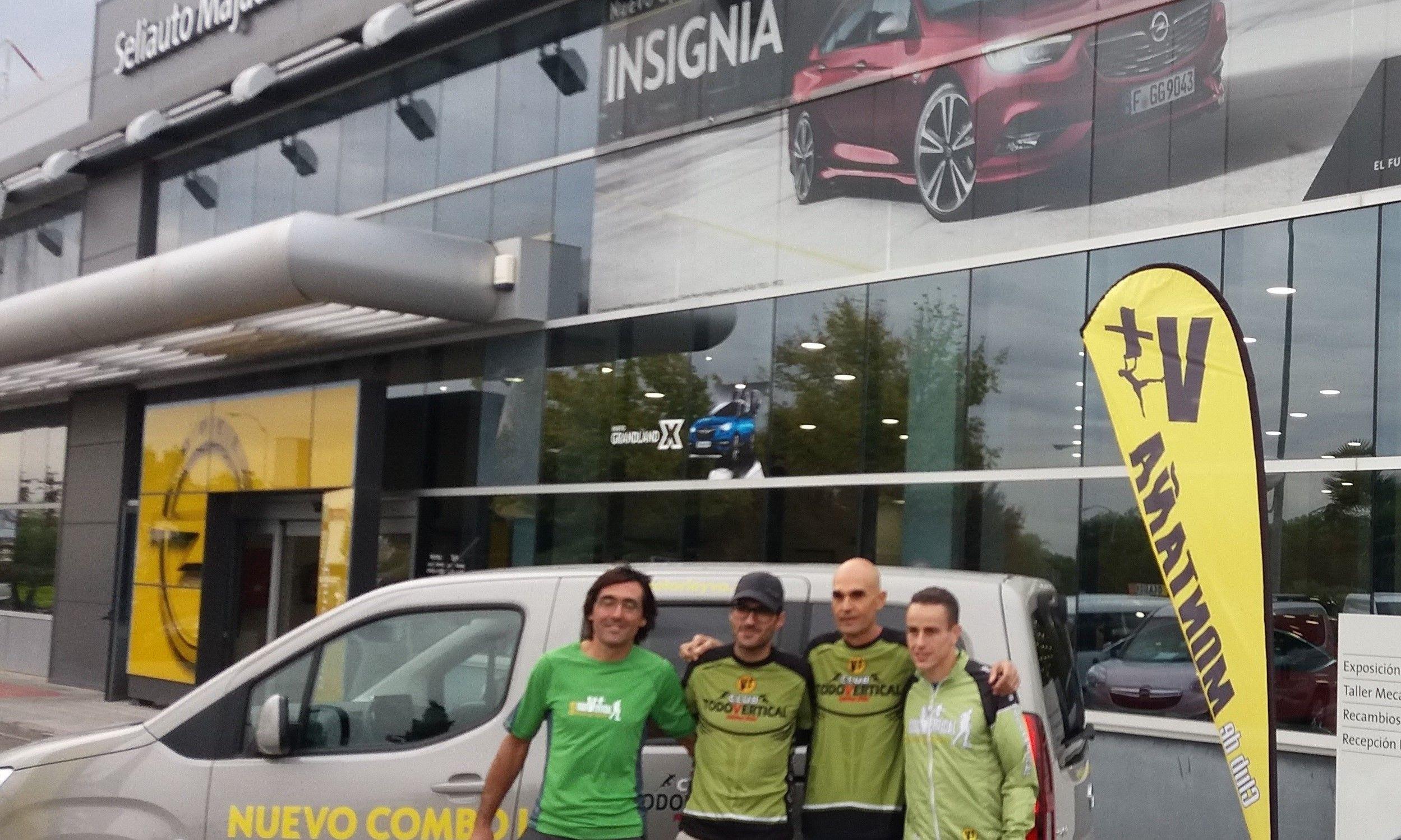 Nos vamos a Ourense con el Club Todo Vertical