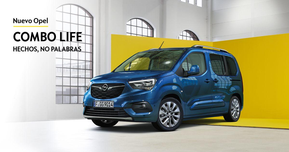 Nuevo Opel Combo Life desde 169€/mes*