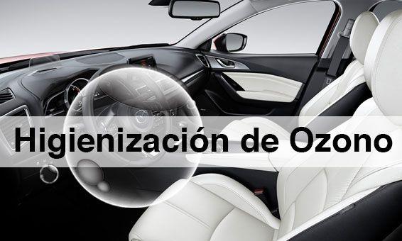 Lo que la higienización de Ozono puede hacer por tu Mazda. Por 25€ IVA incluido.