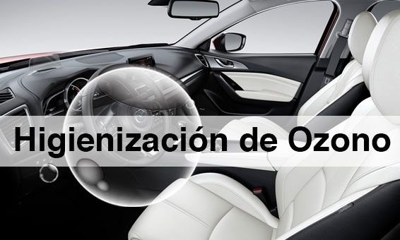 ¿Tu Mazda está limpio en profundidad? Te explicamos las ventajas de la Higienización de Ozono