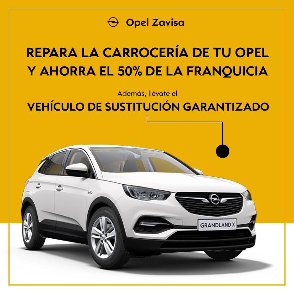 Repara la carrocería de tu Opel en Zavisa