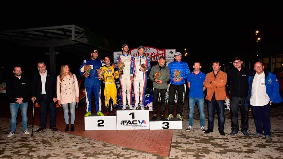 Santiago Carnicer se lleva el XI Rally Ciutat de Gandia