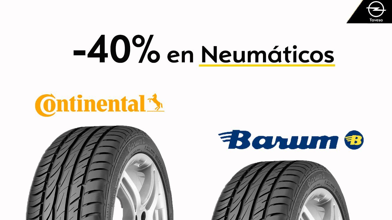 Oferta Especial -40% en Neumáticos