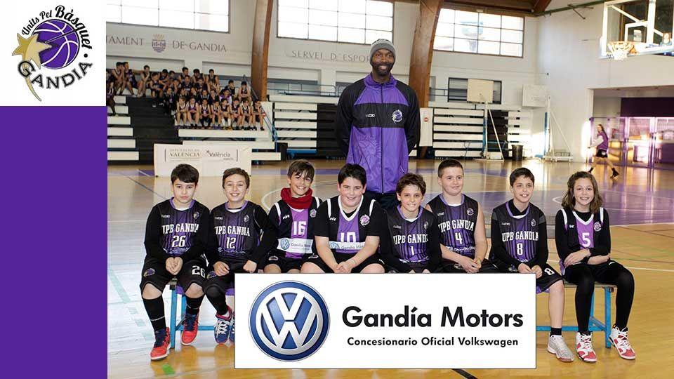 Gandia Motors patrocinará a equipos de la escuela del Bàsquet Gandia