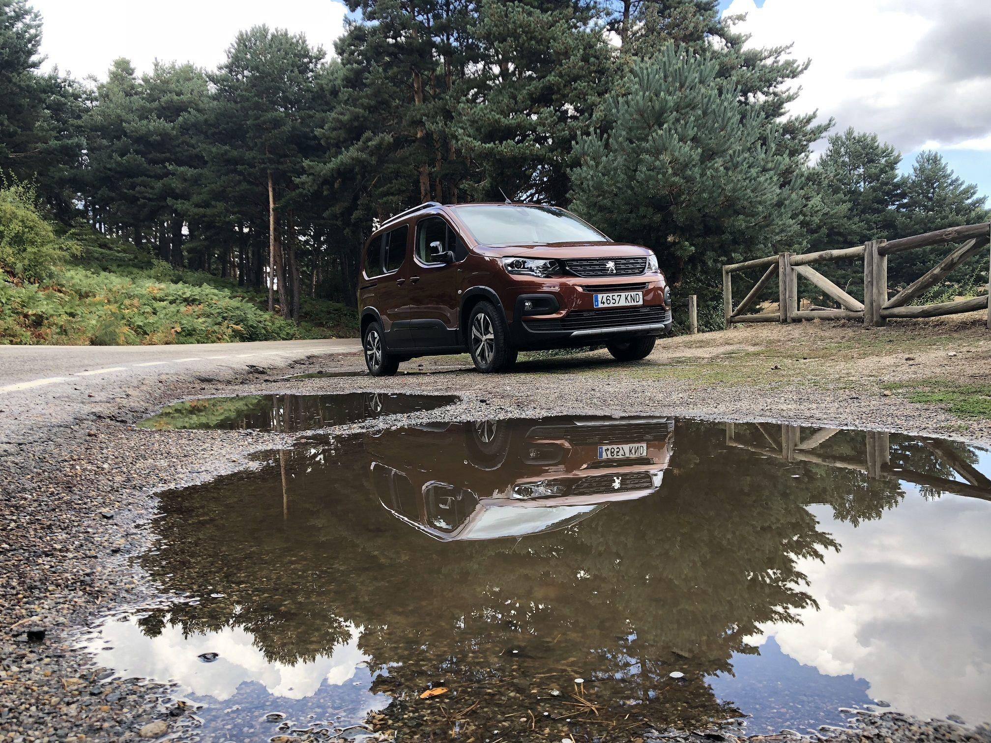 El Nuevo Peugeot Rifter se va de aventura