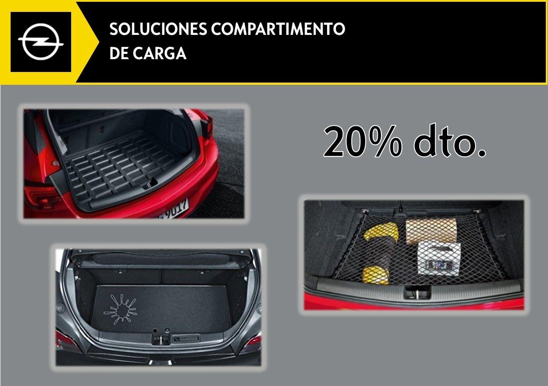 20% DTO. EN SOLUCIONES COMPARTIMENTO DE CARGA