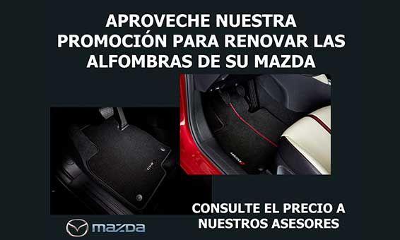 Renueva las alfombrillas para tu Mazda