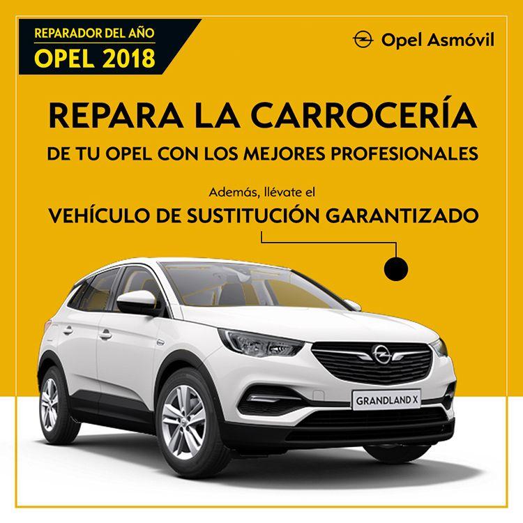 Repara la carrocería de tu Opel en Asmóvil
