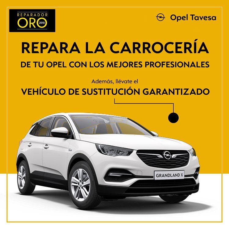 Repara la carrocería de tu Opel en Tavesa