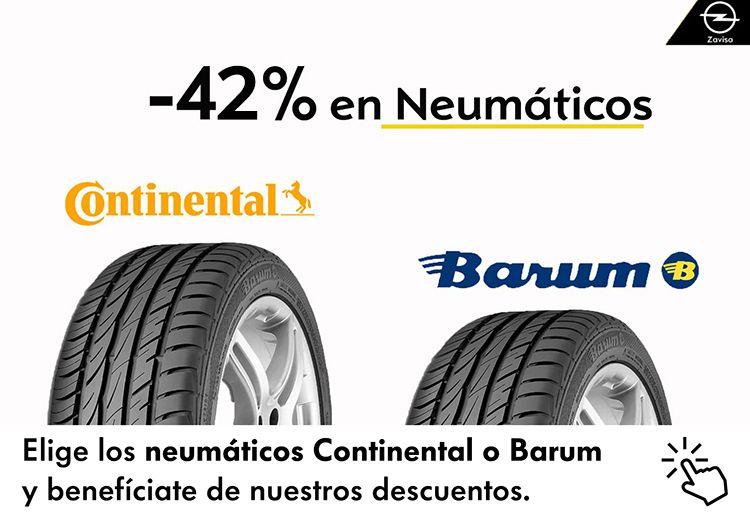 Oferta Especial del 42% en Neumáticos