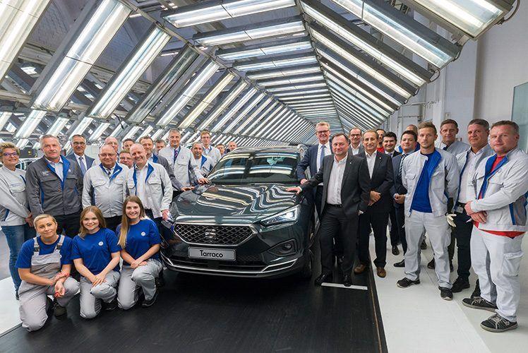 La producción del SEAT Tarraco arranca en Wolfsburg