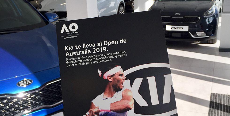 Con Kia Novocar al Open Australia 2019