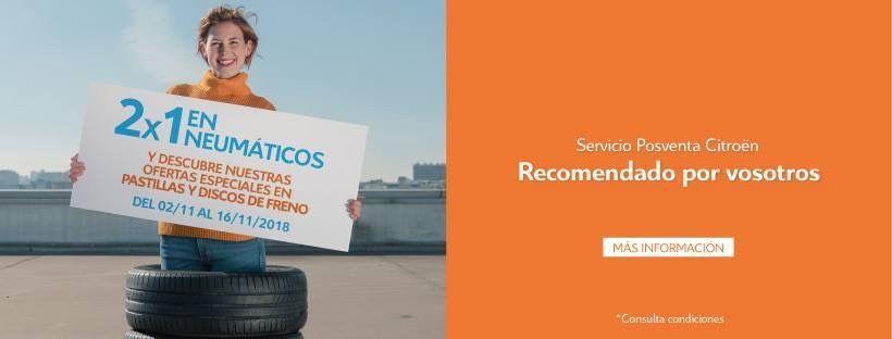 50% descuento en neumáticos hasta el 16/11/2018