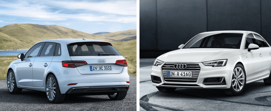 Oferta de Noviembre: Te regalamos un altavoz inteligente Google Home con la compra de tu Audi A3, Audi A4 y Audi Q2.
