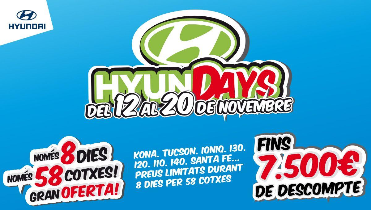 """Aprovecha los """"Hyundays"""" de Augusta Car. Sólo 8 días, sólo 58 coches a precios espectaculares"""