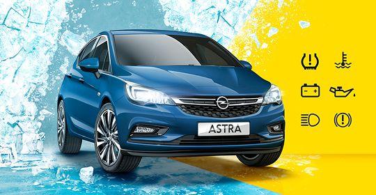 Prepara tu Opel para la llegada del invierno