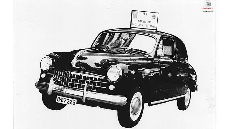 SEAT 1400, el principio de todo