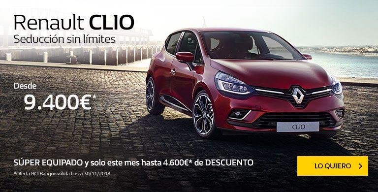 Renault CLIO Seducción sin límites