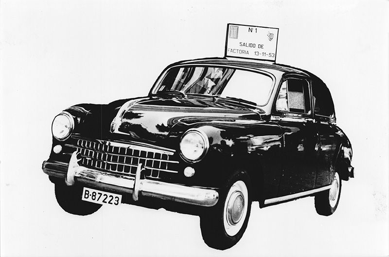 65 Aniversario del SEAT 1400