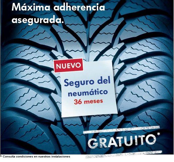 NEUMÁTICOS DESDE 49€* / SEGURO GRATIS