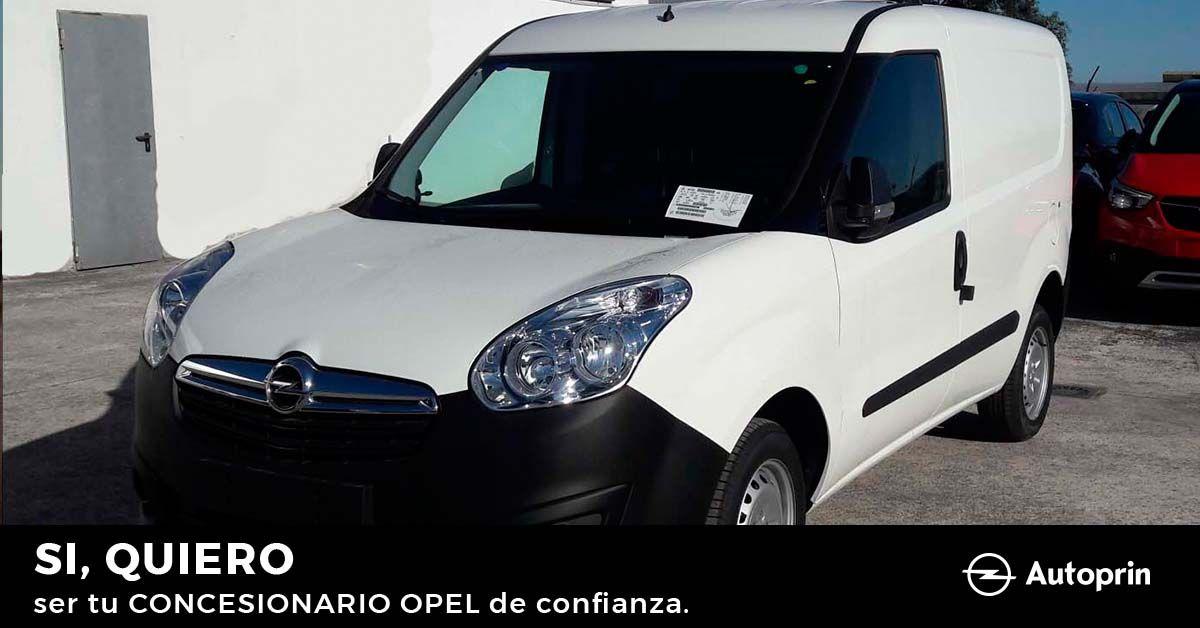 ¡Solo 2 unidades de la Opel Combo Cargo por 12.900€!