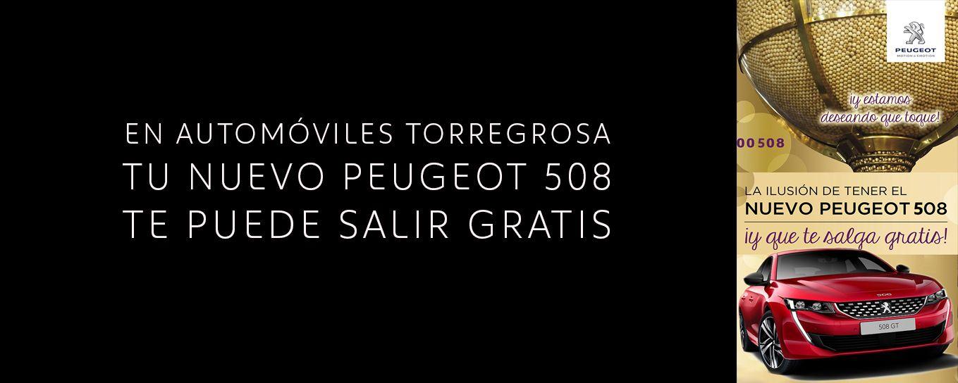 EL NUEVO PEUGEOT 508 TE PUEDE SALIR GRATIS