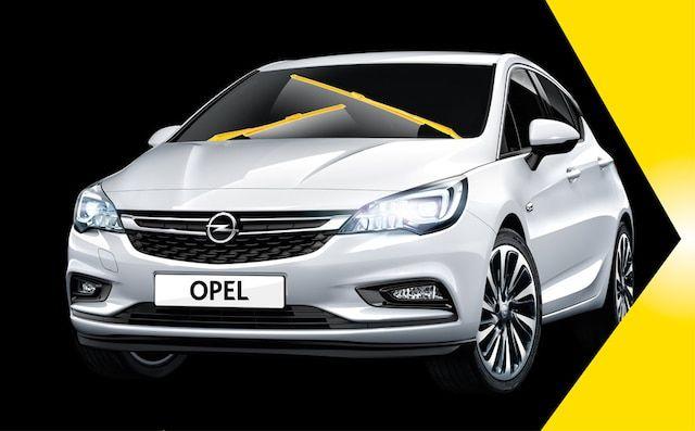 Cambia las escobillas de tu Opel.