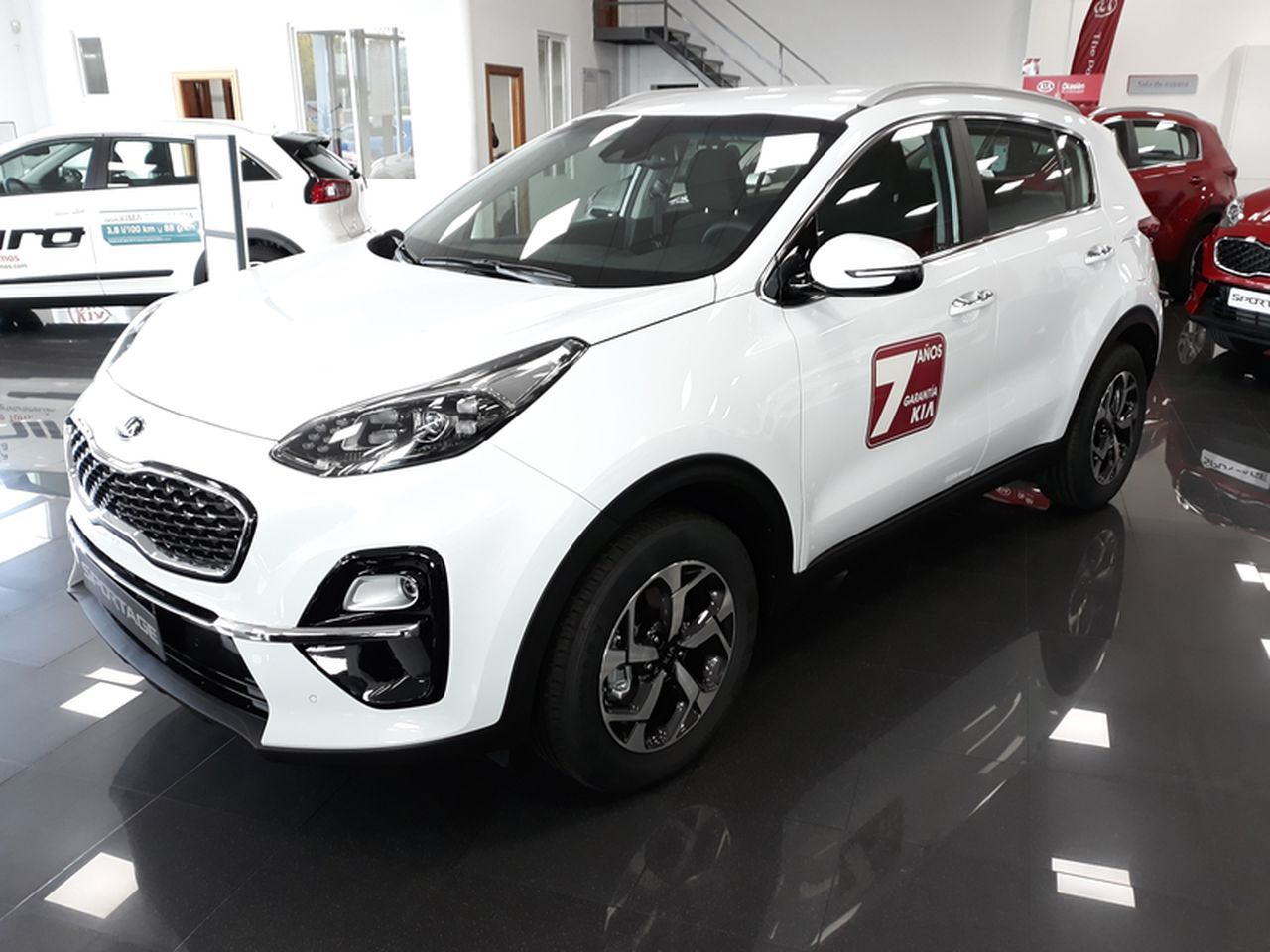 Sportage 1.6 GDi Drive (Pack Total) Gasolina 132 cv. Color Cassa White.