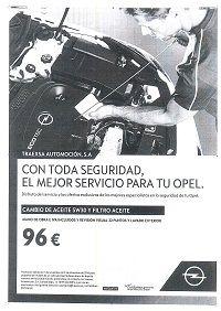 CAMBIO ACEITE 5W30 Y FILTRO ACEITE POR 96€