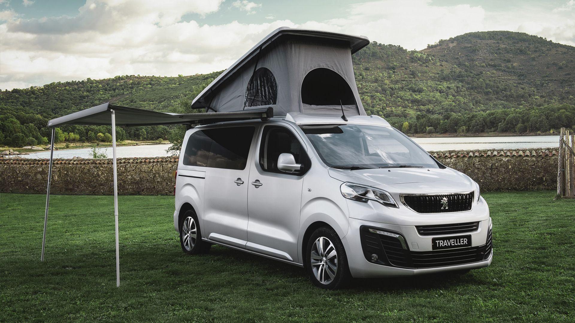 """Peugeot es """"camperitza"""" i presenta els nou Peugeot Traveller Camper i Peugeot Rifter Camper"""
