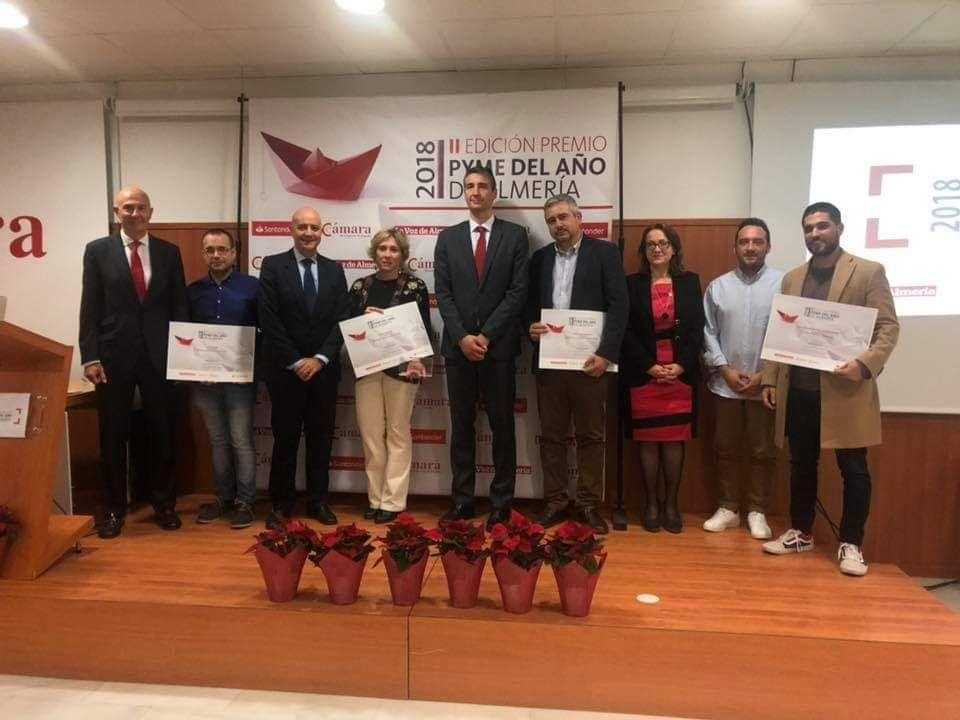 VERA IMPORT GRUPO EMPRESARIAL, Galardonada con el Premio Pyme del Año de Almería 2018