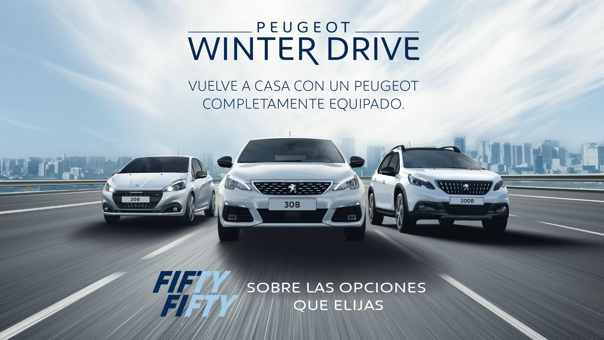 Esta navidad, llévate un Peugeot con el 50% de descuento en el equipamiento extra
