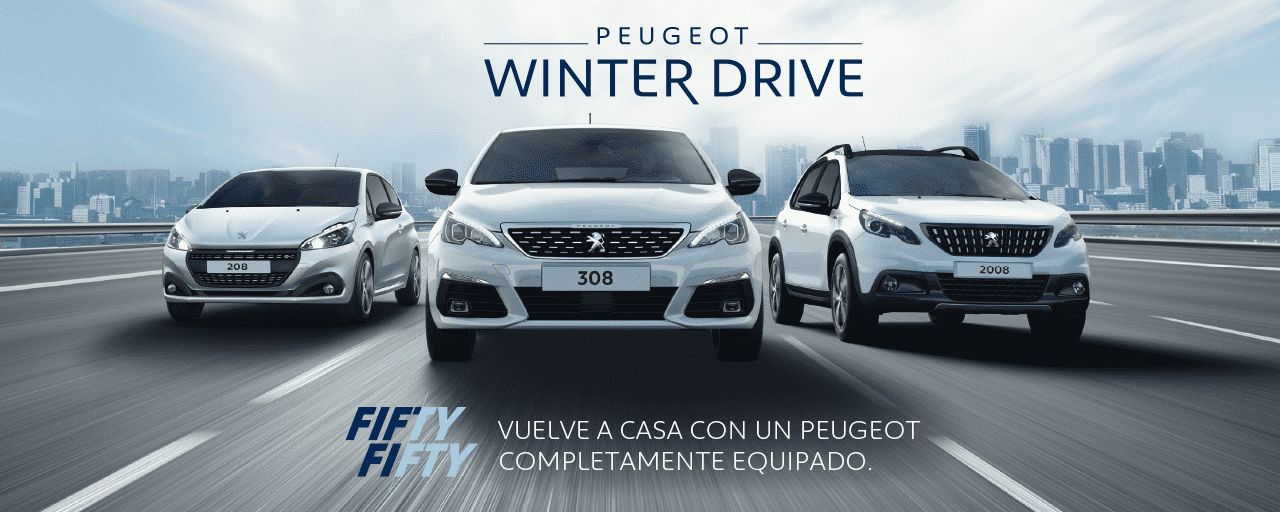 Peugeot Winter Drive Fifty Fifty