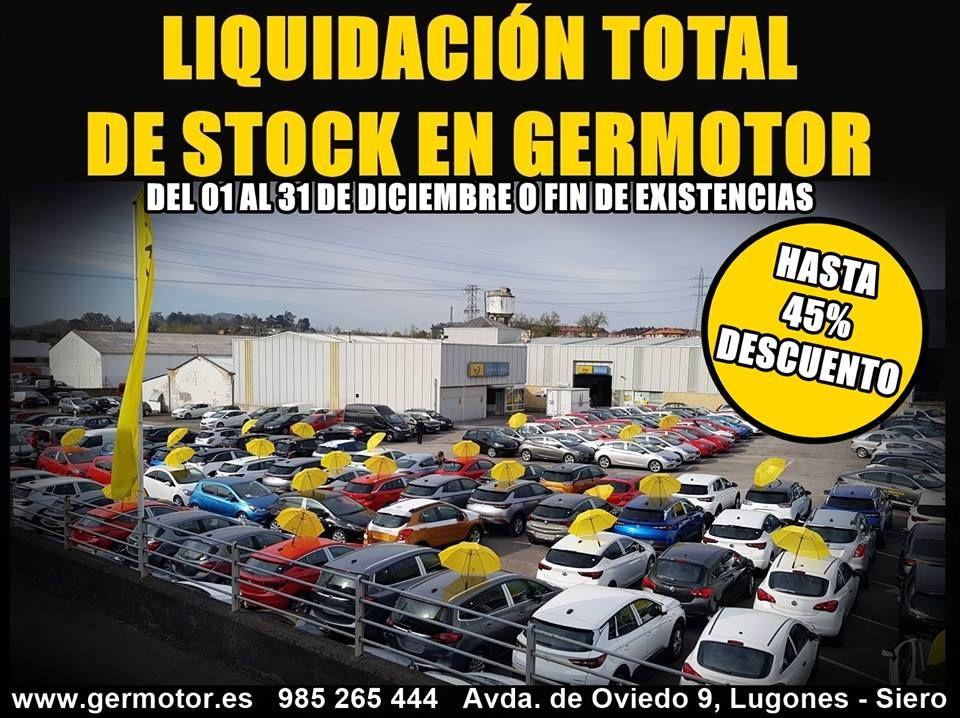 LIQUIDACIÓN TOTAL DE STOCK EN GERMOTOR!!!