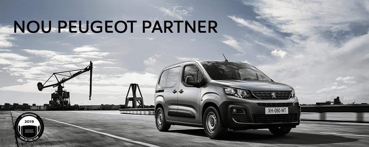Nova Peugeot Partner Furgón